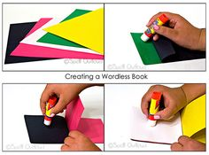 Wordless Book Crafts images