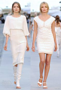 chanel gowns | chanel resort 2012 short dresses