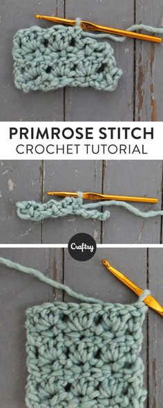 Looking for a new crochet stitch? Pull out your favorite swatching yarn and try the primrose stitch for home decor, accessories and more!