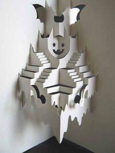 haunted house pop up idea