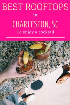 The best rooftop bars in Charleston, South Carolina to enjoy a cocktail! Charleston South Carolina, Folly Beach South Carolina, Charleston Style, Best Rooftop Bars, All I Ever Wanted, Need A Vacation, Weekend Trips, Weekend Getaways, Weekend Fun