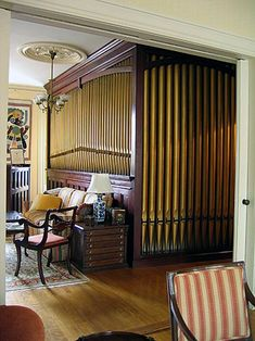 1909 Hope-Jones organ at residence of Peter Plumb, Portland, Maine
