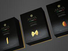 grand #italian pasta - #packaging #design