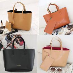 New leather HandBag Shoulder Women bag brown black hobo tote purse designer lady #Unbranded #ShoulderBag