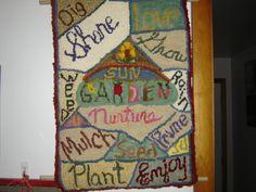 Words to describe my garden!