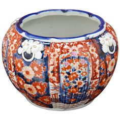 1stdibs   Antique Imari Porcelain Jardiniere ca. 1880