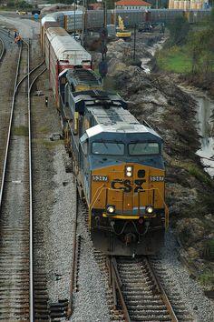 csx train in waycross, ga   CSX in Waycross   Flickr - Photo Sharing!