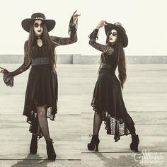 #goth, #gothfashion, #hippiegoth, #bohemiangoth, hippie goth, boho goth, Romantic goth, dark bohemian