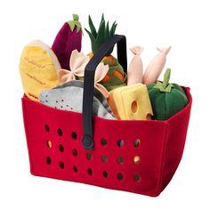 LÅTSAS 11-piece shopping basket