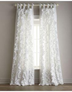 Each Julianna Ruffled Curtain, 42
