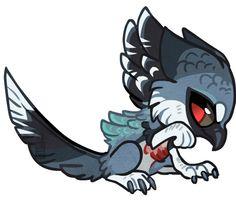 Chibi harpy by griffsnuff on deviantART