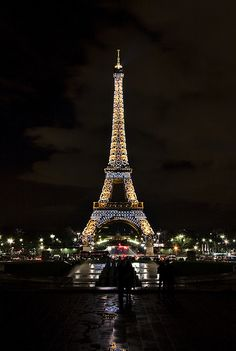 the eiffel tower at night is stunning. so lucky to have been there!