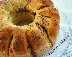 CIAMBELLA di PAN BRIOCHE | ricetta salata