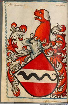 Scheibler'sches Wappenbuch Süddeutschland, um 1450 - 17. Jh. Cod.icon. 312 c  Folio 88