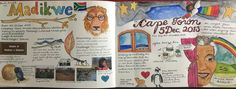 My water colour journal.