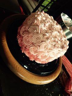 Rosas en chantilly
