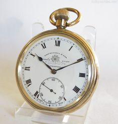 Antique and Vintage Mens Watches, Thomas Russell Pocket Watch. Old Pocket Watches, Army Watches, Old Watches, Vintage Watches For Men, Antique Watches, Vintage Men, Pocket Watch Mens, Pocket Watch Antique, Old Clocks