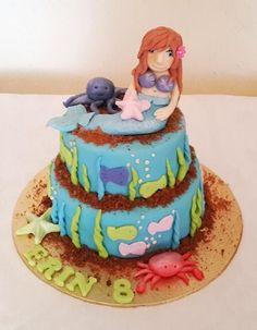 Cute Mermaid Birthday Cake - THE SWEET ESCAPE