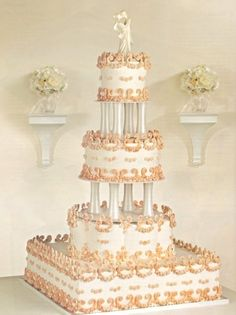 Wedding Cake Ideas - Pictures of Wedding Cakes