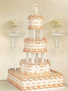 Wedding Cake Ideas - Pictures of Wedding Cakes