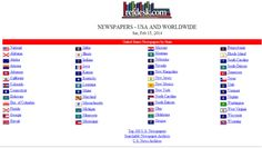 Newspapers USA And Worldwide Compilation From Refdesk Also - Top newspapers in usa
