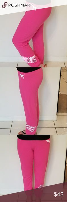 Victoria's Secret PINK Sweatpants Great Condition Size Small PINK Victoria's Secret Pants Track Pants & Joggers