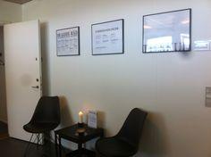 Hyggeligt venteværelse