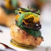 Langoustines poêlées en civet de cresson - une recette Fruits de mer - Cuisine