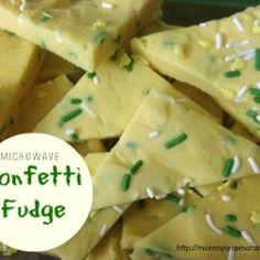 Microwave Confetti Fudge recipe
