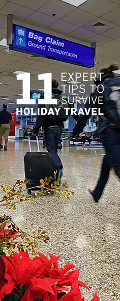 While there may be 47 million people heading out for Thanksgiving this year, there are simple ways to make it to your destination (and back!) without losing your holiday cheer.
