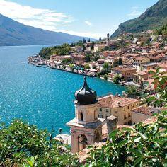Riva del Garda, Lago di Garda, Italia <3