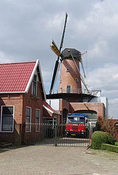 Flour mill De Zwaluw, Nieuwe Pekela, the Netherlands