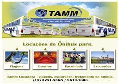 TAMM Locadora Locação - Excursão - Eventos e Turismo