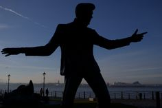 Billy's Statue in Liverpool