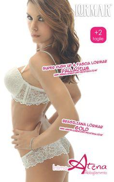 07062597c12e Reggiseno Super Push Up a Fascia Lormar Palladium - intimo sposa - Lormar