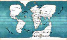 combined map of beleriand and middle earth - Google Search