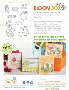 Paper Crafter Anonymous #FunStampersJourney #BloomBox