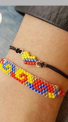 Autism Jewelry, Bead Loom Bracelets, Woven Bracelets, Handmade Bracelets, Beaded Foot Jewelry, Bead Embroidery Jewelry, Native Beading Patterns, Seed Bead Patterns, Bead Jewelry