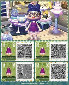 Modcloth inspired fashion ~ ~ Romantic Resplendence Dress Animal Crossing Town Tune, Animal Crossing 3ds, Ac New Leaf, Happy Home Designer, Cute Easy Drawings, All About Animals, Modcloth, Fall Outfits, Romantic