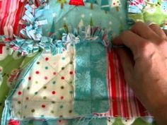 Cutting Your Rag Quilt