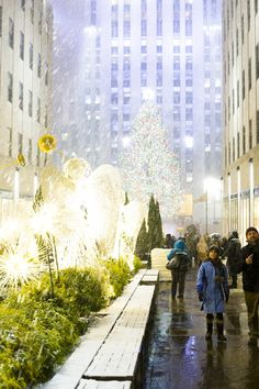 #Christmas in #NYC is the stuff dreams are made of.