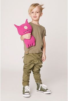 Image of SHAMPOODLE chinos, army green