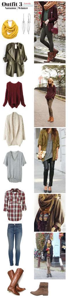 Autumn Winter fashion outfit with Wisteria Collection jewelry