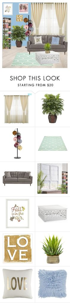 """Living room"" by pindusz ❤ liked on Polyvore featuring interior, interiors, interior design, home, home decor, interior decorating, Nearly Natural, Cappellini, Improvements and Pottery Barn"