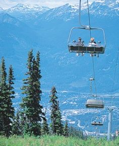 One of my favorite places to vacation in July...Whistler!