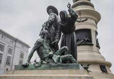 San Francisco Will Remove Statue of White Settlers Towering Over a Native American - Alphi Creative Before Sunrise, San Francisco Art, San Francisco California, White Settlers, Native American History, Art Market, New Art, Statue Of Liberty, Statues