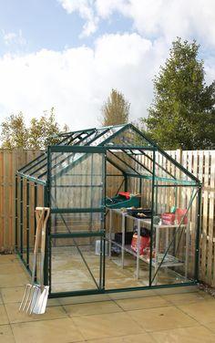 Simplicity Classic aluminium greenhouse 6x8 starter package