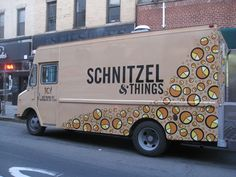 ...and Schnitzel with noodles... (and food trucks in general - yum!)  #allaboutme http://food-trucks-for-sale.com/