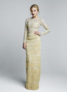 Hamda Al Fahim Fall 2014 - Aisle Perfect #flapperstyle #weddingdress #1920s