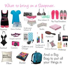 What to bring on a Sleepover.. by themerbear on Polyvore featuring American Vintage, French Connection, Vero Moda, Pull&Bear, Pieces, H&M, Rampant Sporting, American Eagle Outfitters, Topshop and Vans